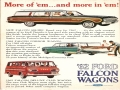 1962 Falcon Wagons