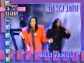 Milli Vanilli wins Best New Artist Grammy  February 21 1990