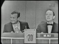 Jack Paar on Whats My Line 1960