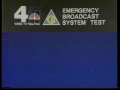 WNBC Emergency Broadcast System Test