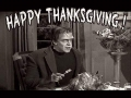 Happy Thanksgiving The Munsters