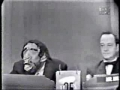 Ed Sullivan on Whats My Line 1958