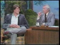 Johnny Carson with Christopher Reeve 1979