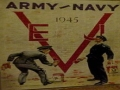 1945 Army-Navy Football Program