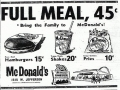 McDonalds Prices - 1950s