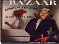Lauren Bacall and Harpers Bazaar