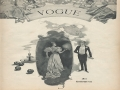 Cover of Vogue Magazine 1893 Halloween