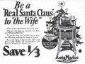 Sexist 1927 washing machine ad