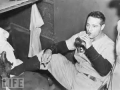 Lou Gehrig Beer and Cigarette Photo