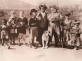 Our Gang Cast Photo 1933