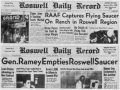60 Year Anniversary of UFO Crash In Roswell