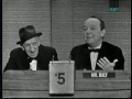 Jimmy Durante on Whats My Line