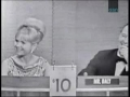 Debbie Reynolds on Whats My Line 1964