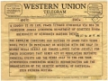 End of Western Union Telegrams 2006