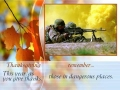 Thanksgiving- Remembering Our Troops