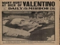Rudolph Valentino Funeral Riot