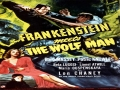 Frankenstein Meets The Wolf Man Movie Poster