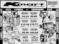K-Mart Camera and Equipment Sale