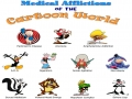 Medical Afflictions of Cartoon Characters