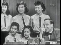 The Five DeMarco Sisters on Whats My Line