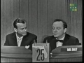 Jack Paar on Whats My Line 1958