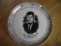 Presidential Collectables-JFK Plate