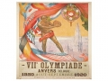 1920 Olympic Games Poster