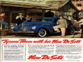 Vintage DeSoto Ad With Tyrone Power