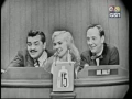 Ernie Kovacs and Edie Adams on Whats My Line