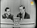 Jacques Plante on Whats My Line