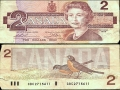 Canadian Two-Dollar Bill