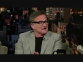 Robin Williams on Letterman recent