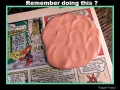Silly putty and the comics