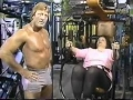At the Gym with Paul Orndorff - 1984