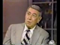 Howard Cosell with David Letterman