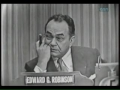 Edward G Robinson on Whats My Line 1953
