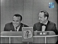 Harry Belafonte on Whats My Line 1959