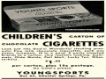 Chocolate Children Cigarettes