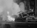 Gomez Addams Blows Up Trains