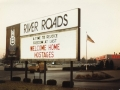River Roads Mall marquee - 1981