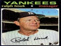 Manager Ralph Houk passes today at age 90