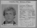 Woody Harrelson Mug Shot 1982