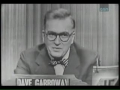 Dave Garroway on Whats My Line