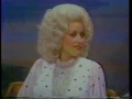 Dolly Parton and Johnny Carson