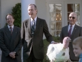 George H. Bush First To Pardon A Turkey