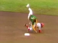 1972 World Series - McRae Flattens Green
