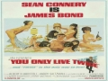 1967 Movie Poster You Only Live Twice