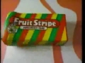 Fruit Stripe Gum Commercial 1990