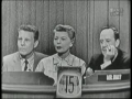 Ozzie and Harriet Nelson on Whats My Line
