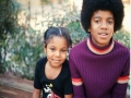 Michael and sister Janet